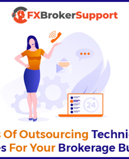 Advantages of Outsourcing Technical Support Services For your Brokerage Business